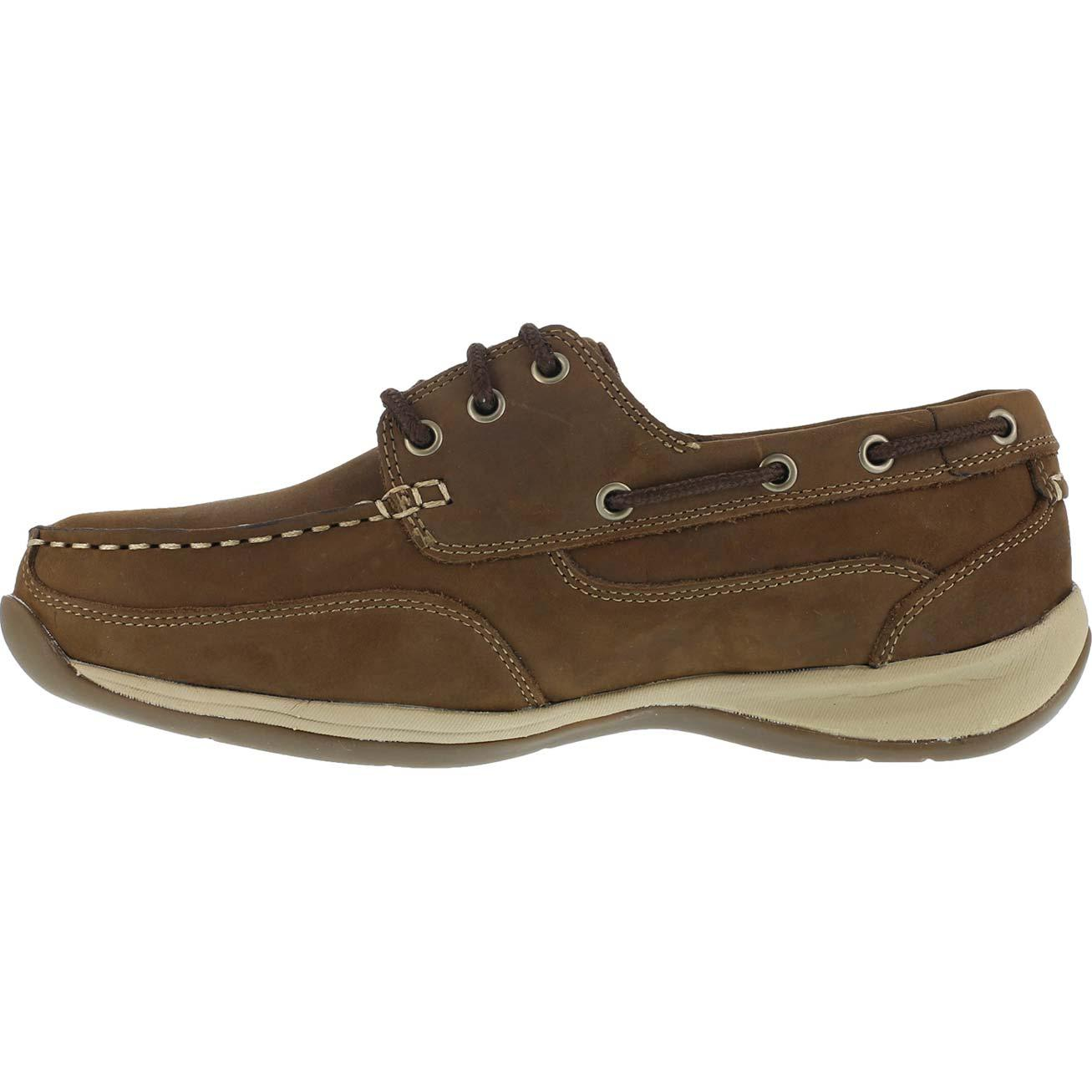 Brown Rockport Womens Safety Shoes