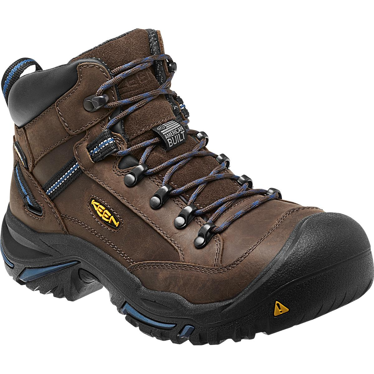Black Keen Safety Shoes