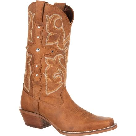 Crush by Durango Women's Cross Strap Western Boot, , large