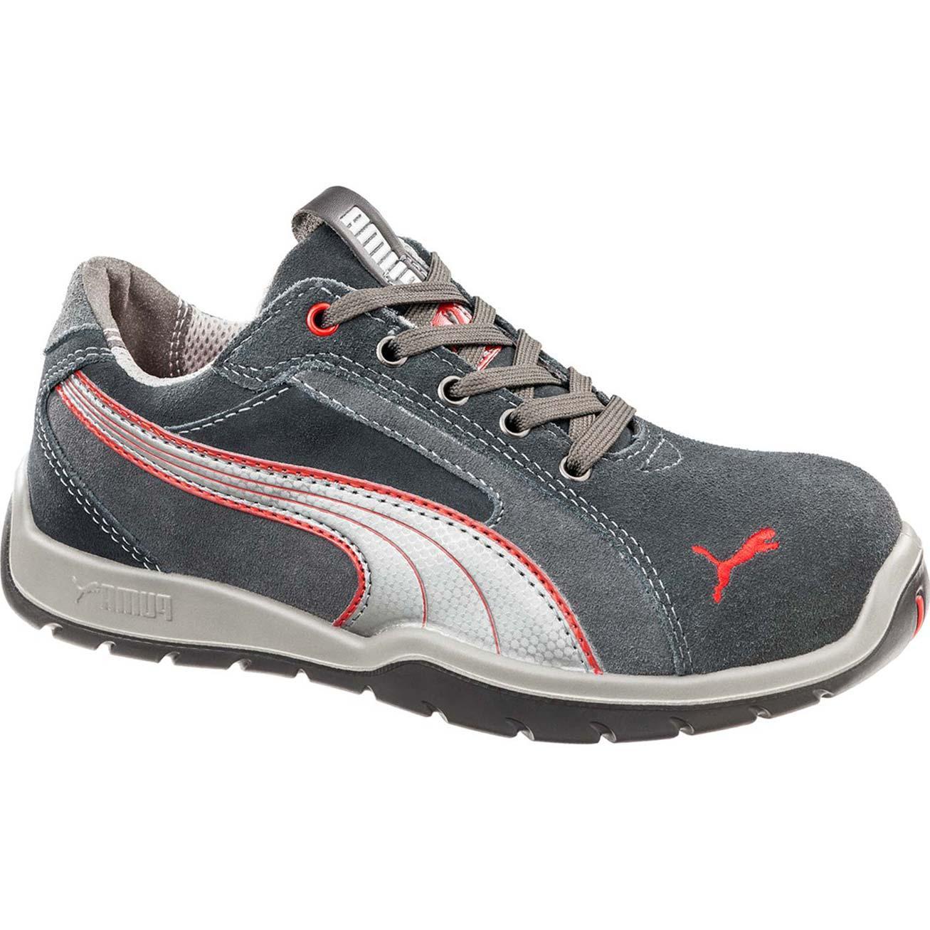 Men S Puma Steel Toe Shoes Black
