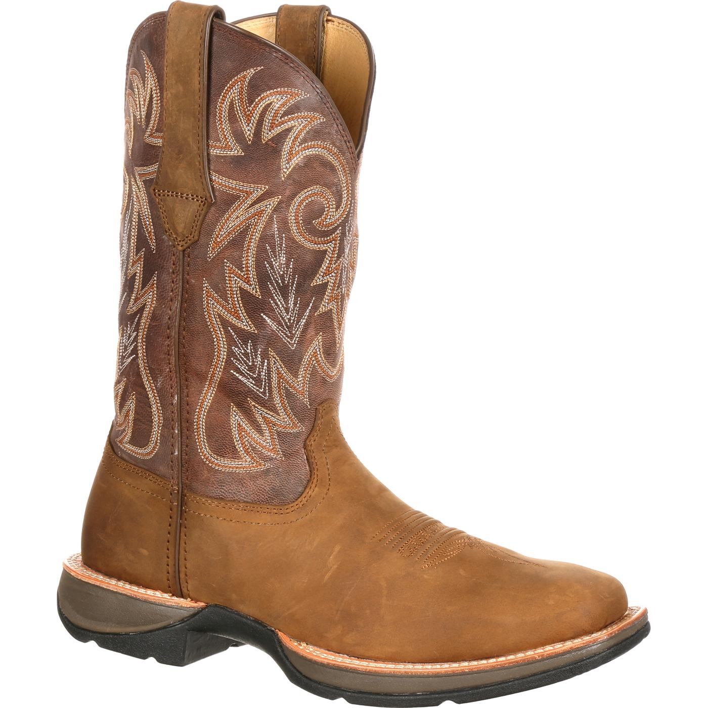 s comfortable western boot red up rebel by durango