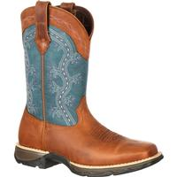 Lady Rebel by Durango Women's Pull-On Western Boot, , medium