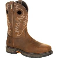 Georgia Boot Carbo-Tec Alloy Toe Waterproof Pull-On Boot, , medium