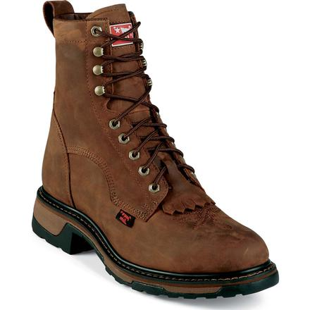 Tony Lama TLX Steel Toe Waterproof Western Work Lacer, , large