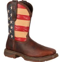 Rebel by Durango Steel Toe Flag Western Flag Boot, , medium