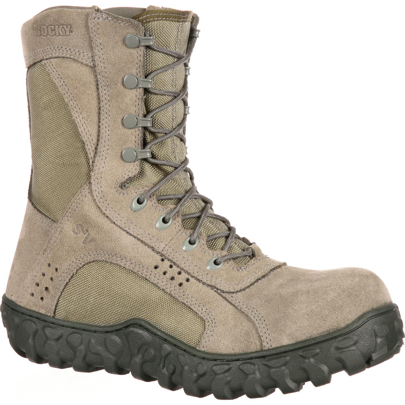 Composite Toe Tactical Military Boot Rocky S2v Rkyc027