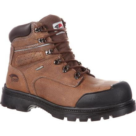 Avenger Steel Toe Puncture-Resistant Waterproof Work Boot, , large