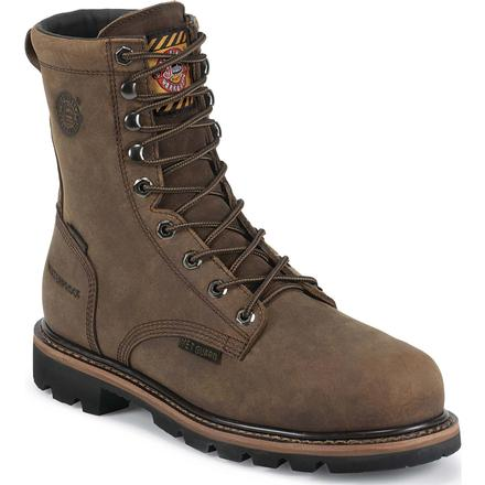Justin Original Workboots Wyoming Worker II Composite Toe Internal Met Guard Waterproof Work Boot, , large