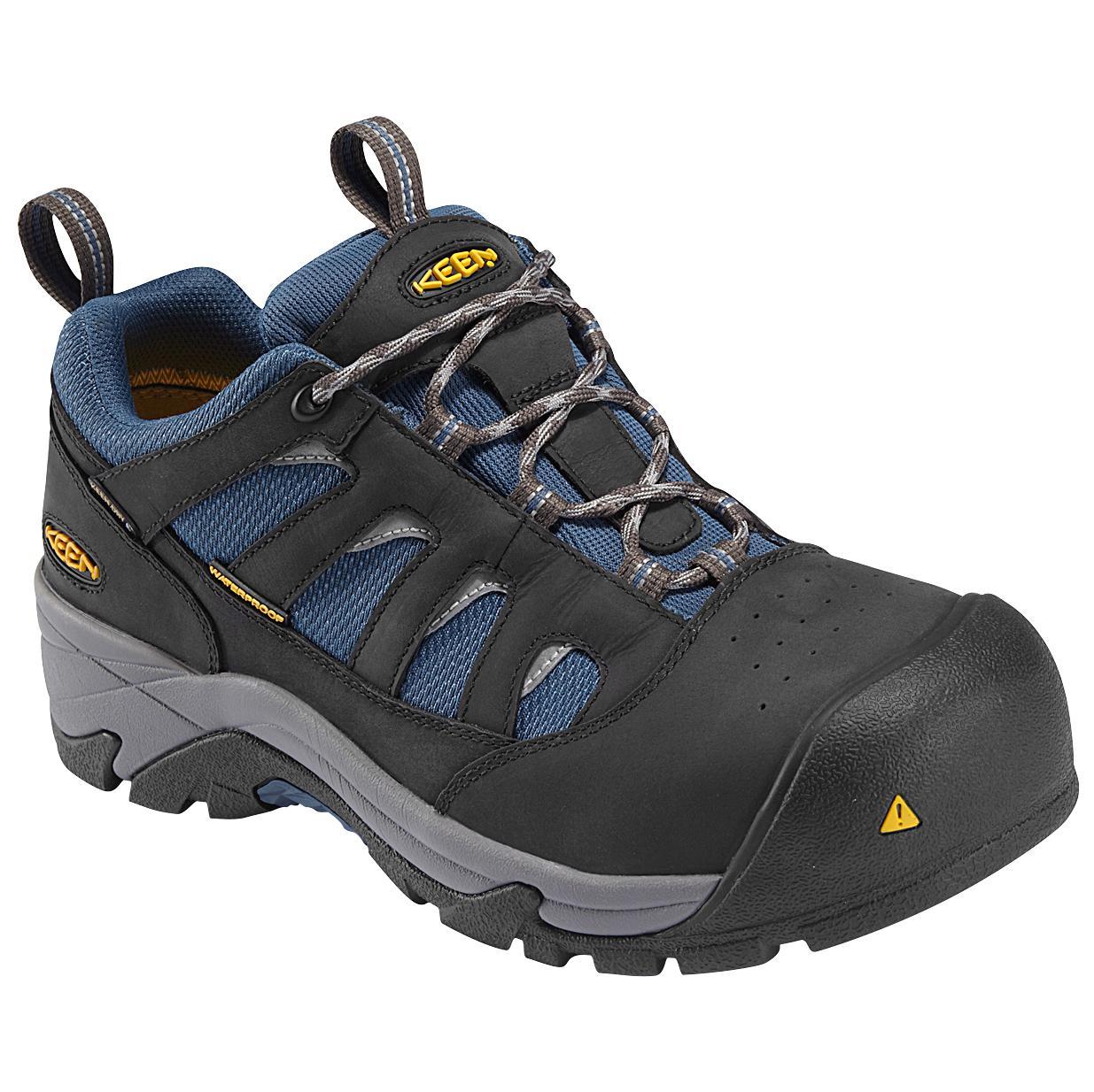 Keen Black Work Shoes