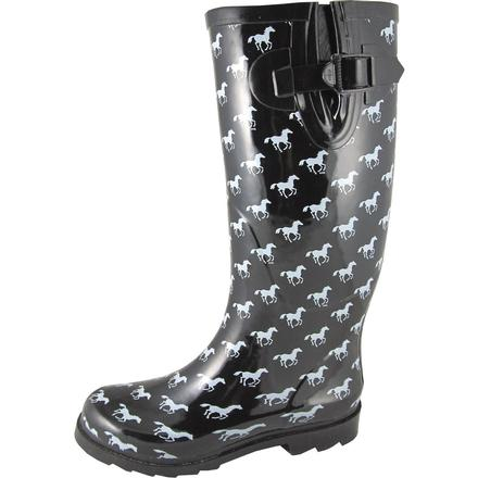Smoky Mountain Women's Ponies Rubber Boot, , large