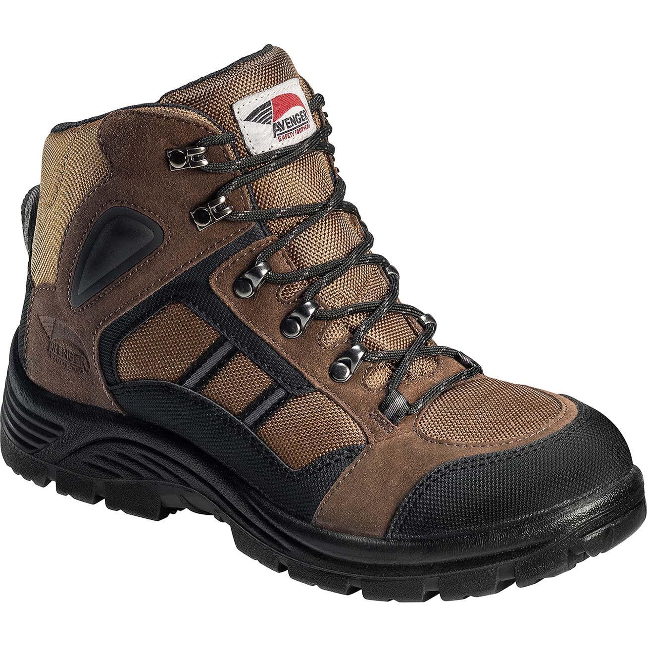 Avenger Steel Toe Hiker Work Boot A7241