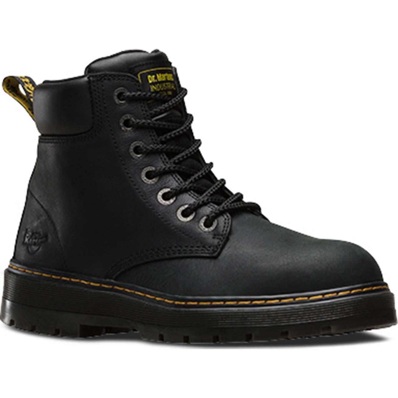 dr martens winch ew steel toe work boot 16801001