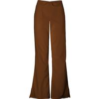 Cherokee Women's Petite Chocolate Flare-Leg Drawstring Pant, , medium