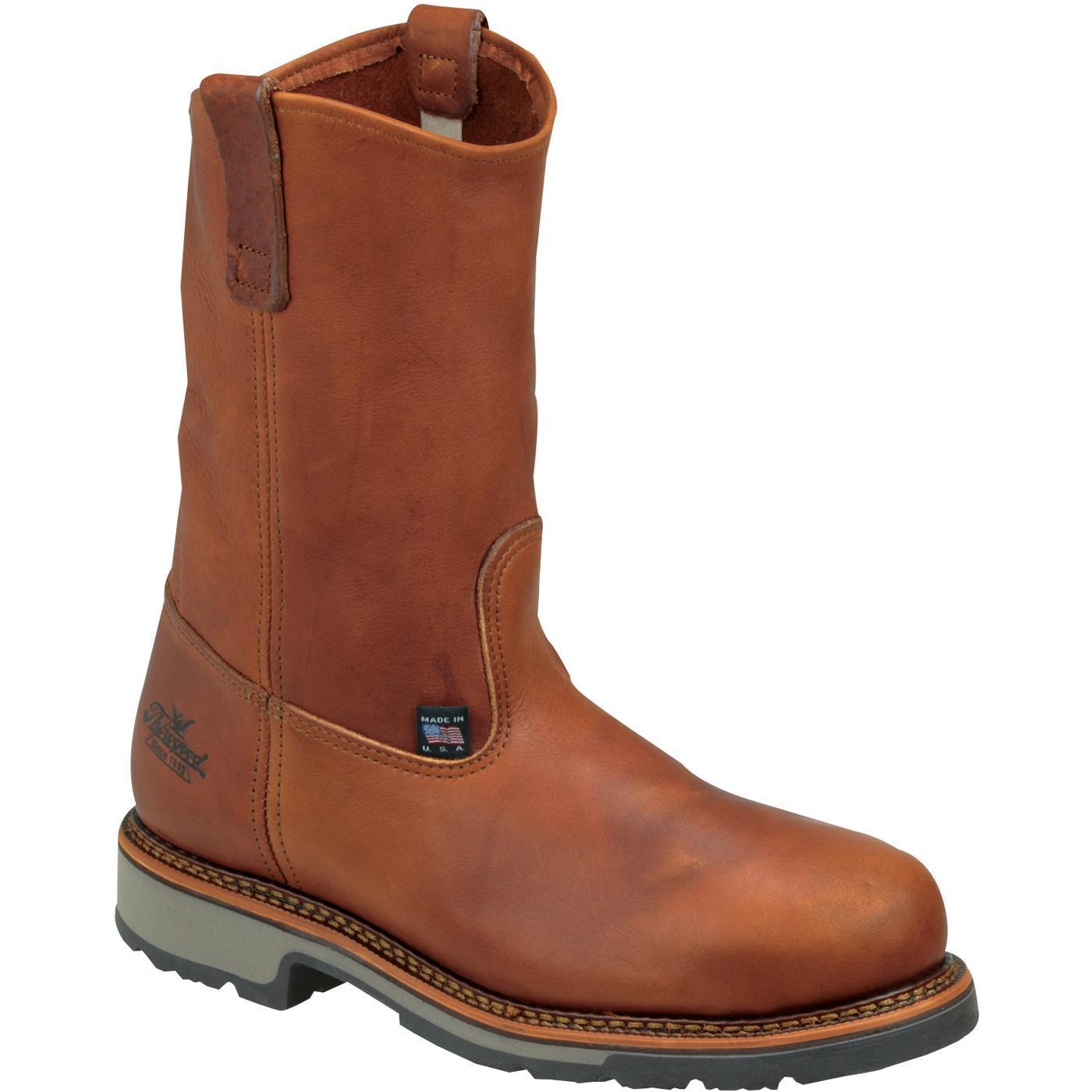 Men S Thorogood Brown Steel Toe Union Made Work Boot 8044822
