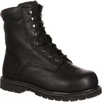 QUICKFIT Collection: Lehigh Safety Shoes Unisex Steel Toe Internal Met Guard Waterproof Work Boot, , medium