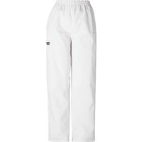 Cherokee Women's White Utility Pant, , medium
