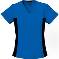Cherokee Women's Flexible Royal V-Neck Top, , medium