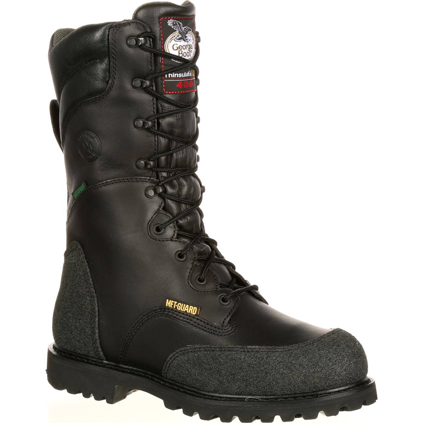 Met Guard Waterproof Insulated Miner Boot Georgia G9330
