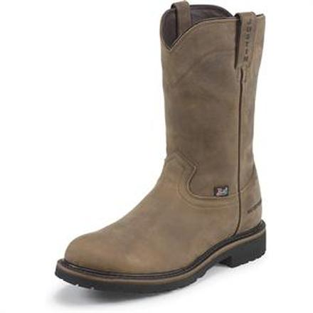 Justin Original Workboots Wyoming Worker II Waterproof Western Work Boot, , large