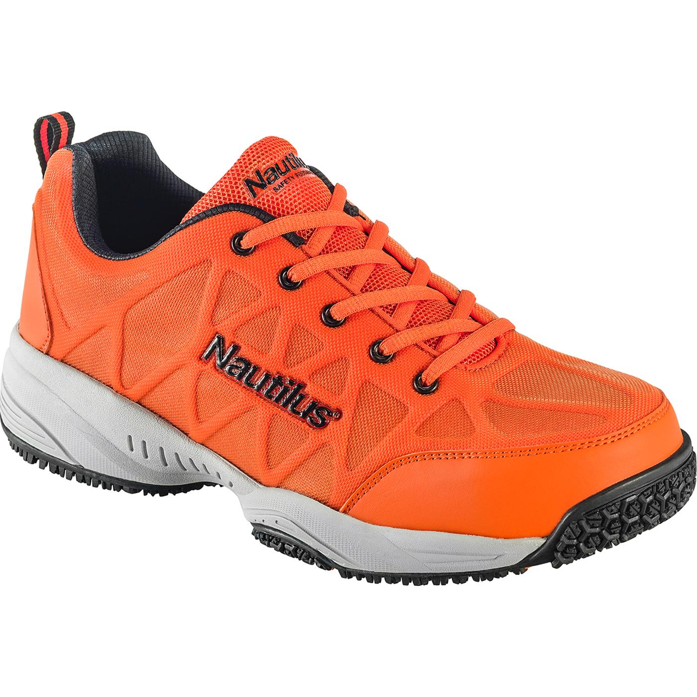 Nautilus Composite Toe Hi Vis Slip Resistant Work Athletic Shoe
