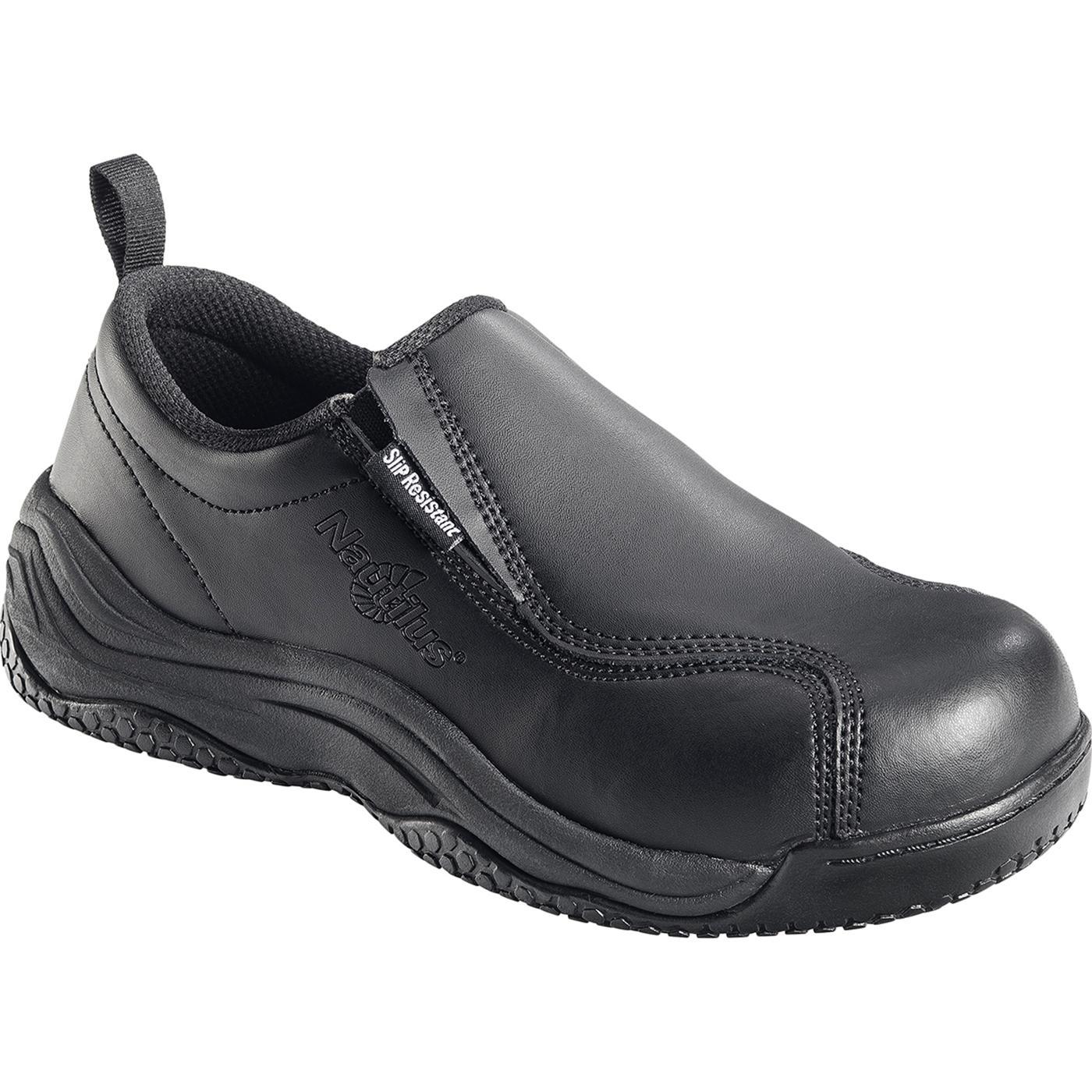 Nautilus Composite Toe Slip On Work Shoes