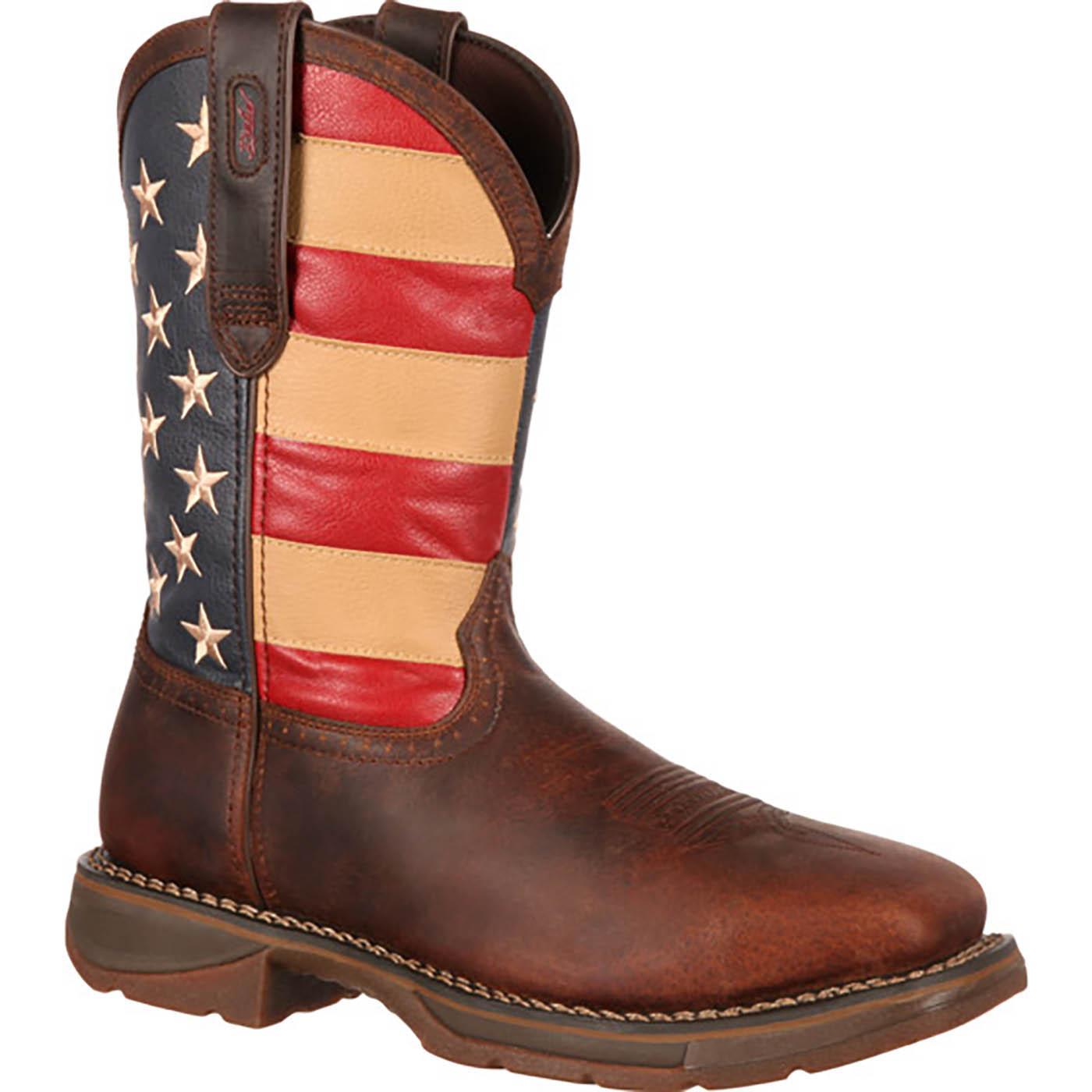 11 Quot Rebel By Durango Flag Boots Men S Steel Toe Work