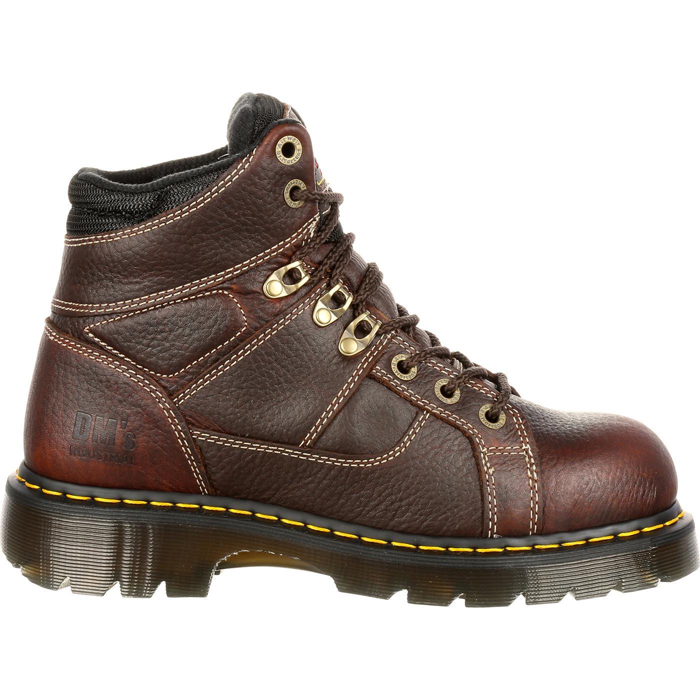 dr martens heritage steel toe work boot 12721200