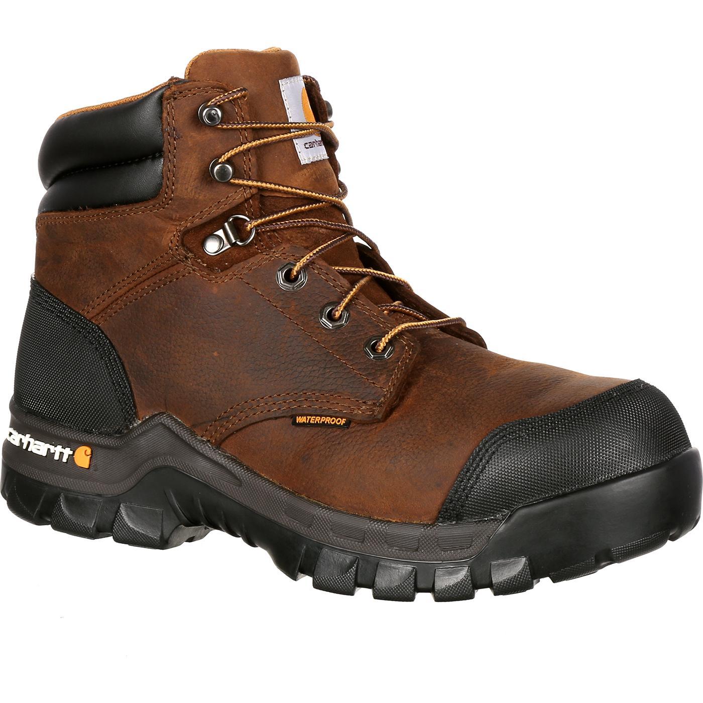 Carhartt Rugged Flex Ct Waterproof Work Boot Cmf6380