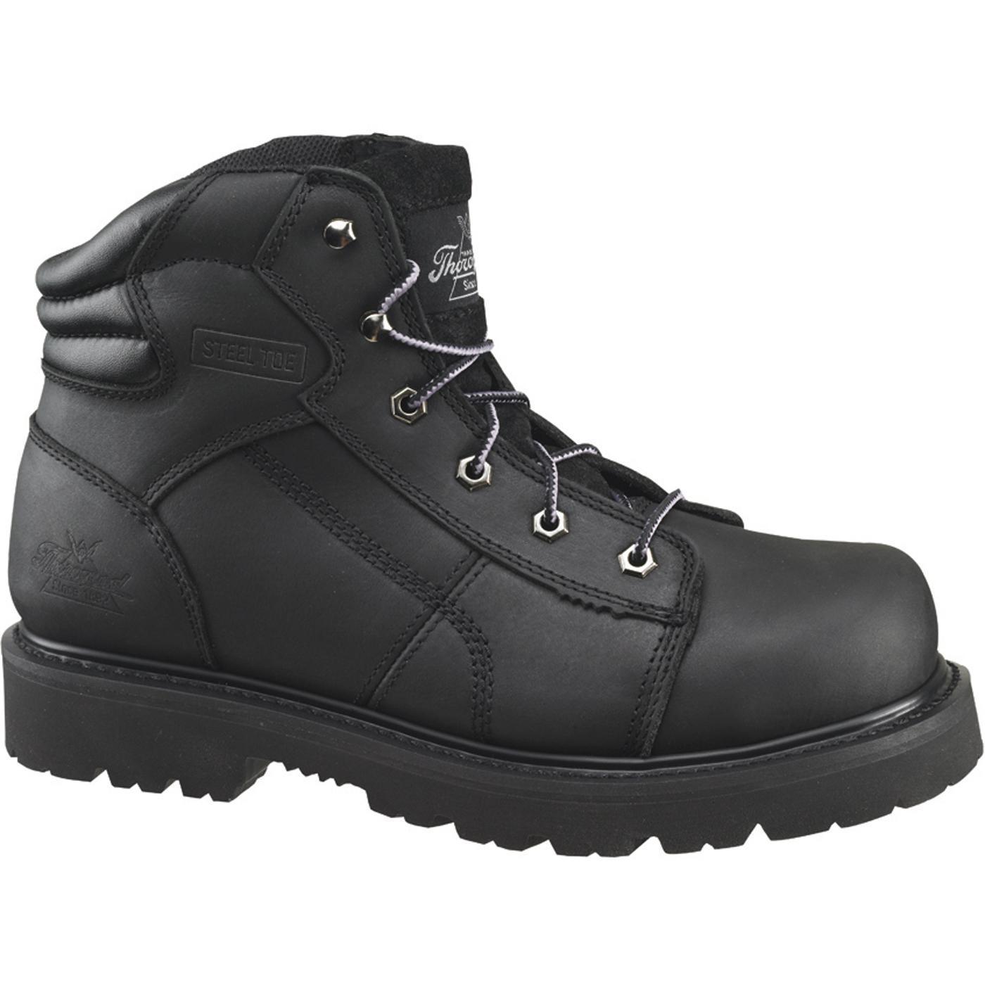 Thorogood Steel Toe American Made Work Boots 804 6450