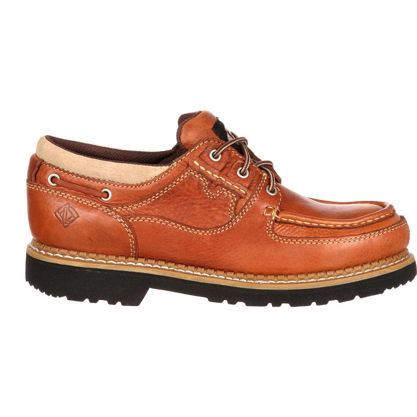 Steel Toe Boat Shoes - By Lehigh Safety Shoes #5142