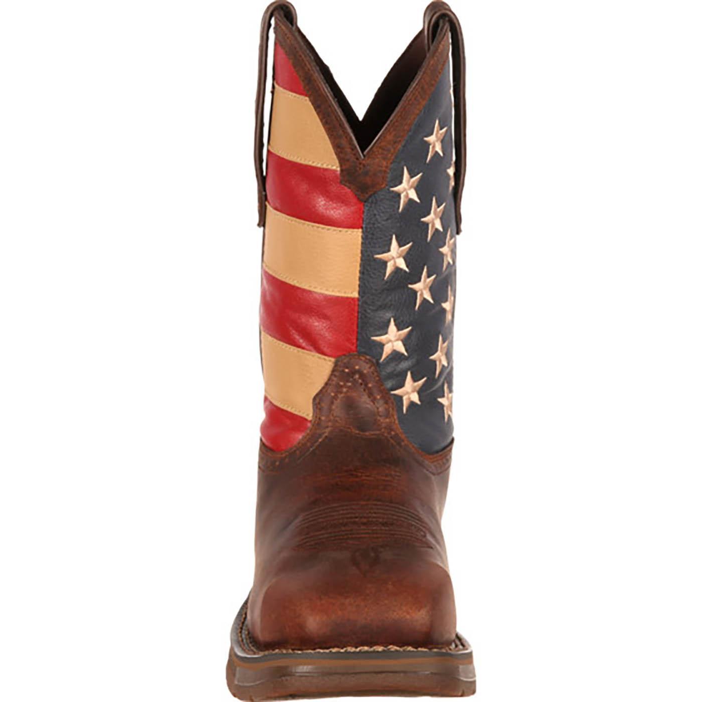 """11"""" Rebel by Durango Flag Boots: Men's Steel-Toe Work ..."""