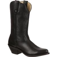 Durango Women's Black Leather Western Boot, , medium