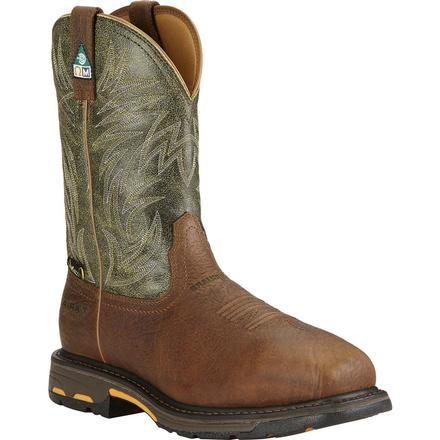 Ariat Workhog Composite Toe Met Guard CSA-Approved Puncture-Resistant Western Work Boot, , large
