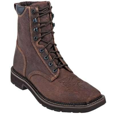 Justin Work Stampede Composite Toe Waterproof Boot Jwk462