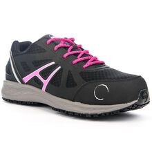HOSS Express Women's 3 inch Composite Toe Electrical Hazard Athletic Work Shoe