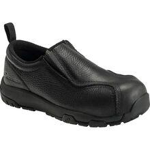 Nautilus ESD Women's Carbon Toe Static Dissipative Non-Metallic Leather Slip On Work Shoe