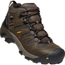 KEEN Utility® Lansing Mid Men's Steel Toe Electrical Hazard Waterproof Work Hiker