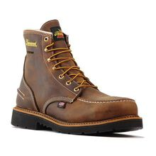 Thorogood 1957 Series Men's Brown Steel Toe Electrical Hazard Waterproof Work Boots