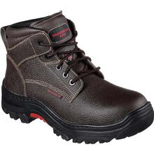 SKECHERS Work Burgin Tarlac Steel Toe Puncture-Resistant Work Boot