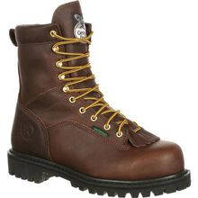 Georgia Boot Lace-to-Toe Steel Toe Waterproof Work Boot