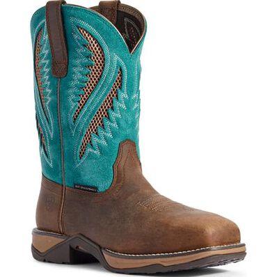 Ariat Anthem VentTEK Women's Composite Toe Electrical Hazard Western Work Boot, , large
