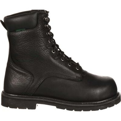 QUICKFIT Collection: Lehigh Safety Shoes Unisex Steel Toe Internal Met Guard Waterproof Work Boot, , large