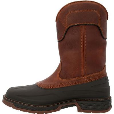 Georgia Boot Carbo-Tec LTR Steel Toe Waterproof Pull On Boot, , large
