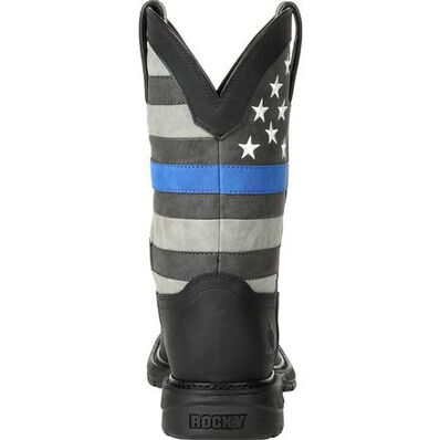 Rocky Blue Line Western Boot, , large