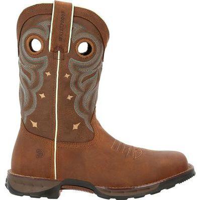 Durango® Maverick Women's Steel Toe Waterproof Western Work Boot, , large