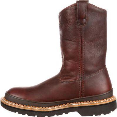 Georgia Giant Steel Toe Pull-On Work Boots, , large