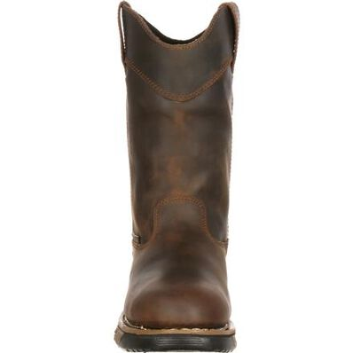 Rocky Steel Toe Waterproof Wellington Work Boot, , large
