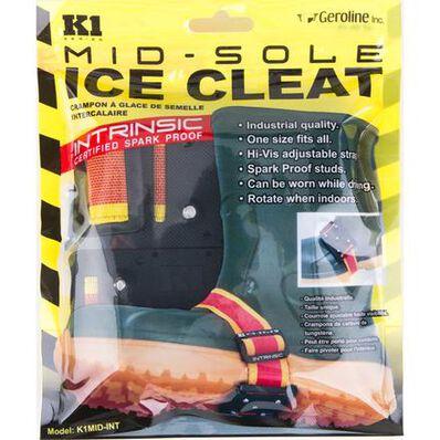 Geroline K1 Series Intrinsic Mid-Sole Unisex Adjustable Ice Cleats, , large
