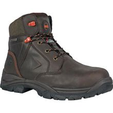 HOSS Hudson Men's 400G Insulated Composite Toe Electrical Hazard Puncture-Resisting Waterproof Leather Work Boot