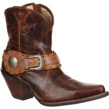 Crush™ by Durango® Women's Spur Strap Demi Western Boot